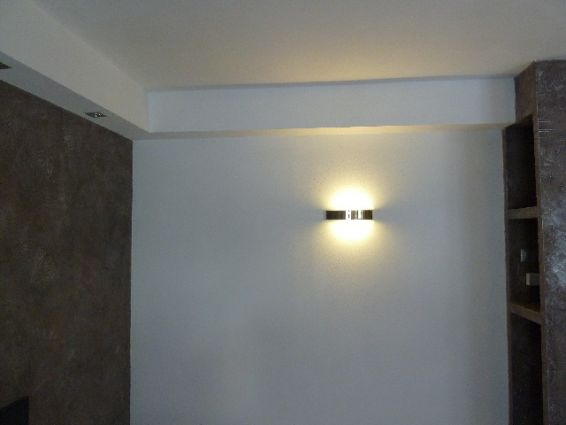 Velette Luminose in cartongesso  Resine Design