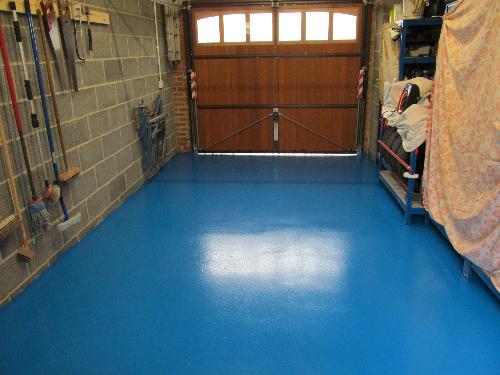 Liquid epoxy garage floor coatings North East England