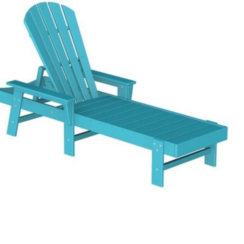 Plastic South Beach Chaise Lounge Fiesta PWSBC76