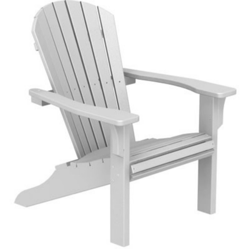 Recycled Plastic Seashell Adirondack Chair PWSH22