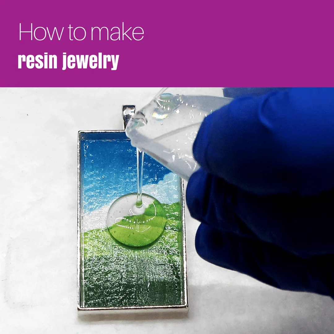How to make resin jewelry - Resin Obsession