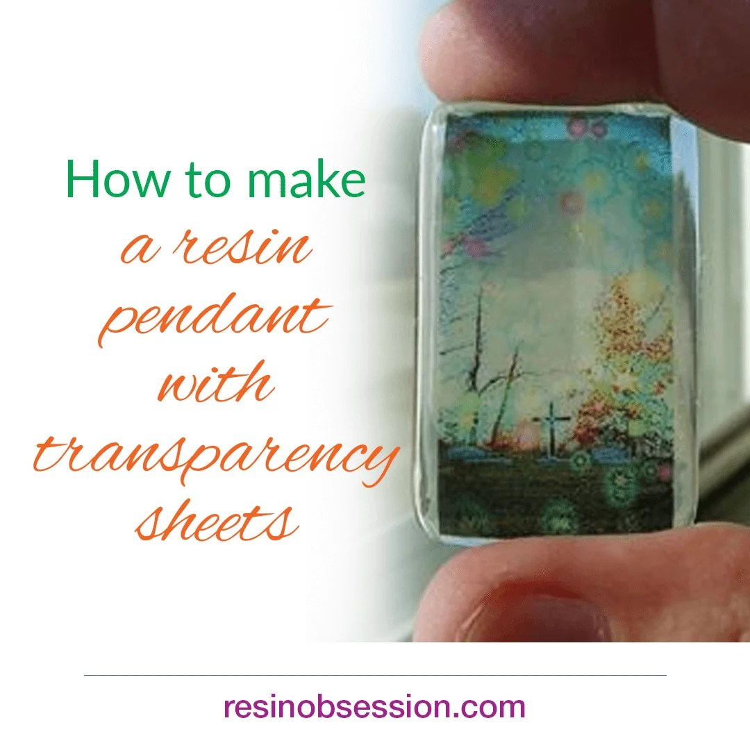 graphic regarding Printable Transparency Paper identify Create your private resin pendants taking transparencies - Resin
