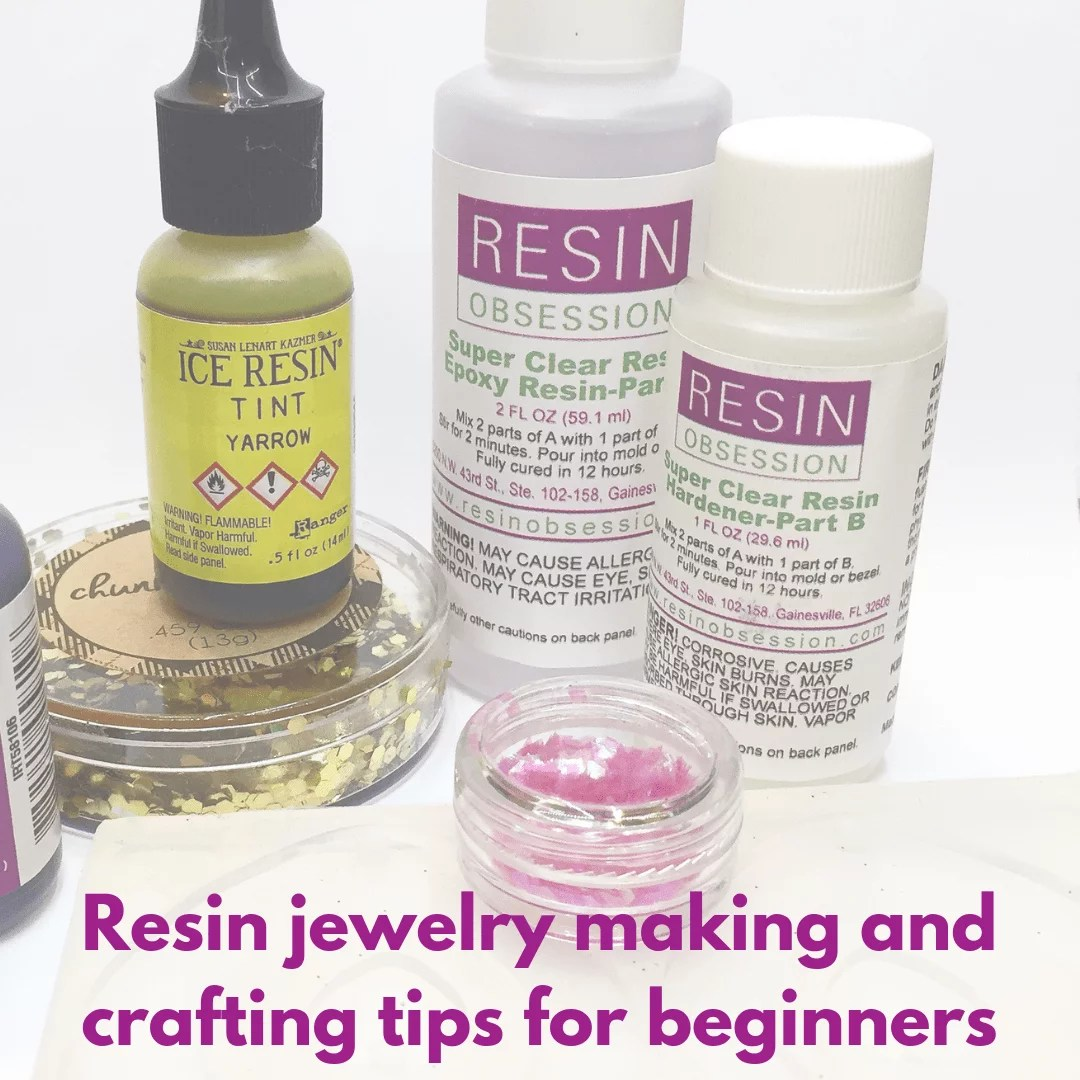 resin crafting tips for beginners