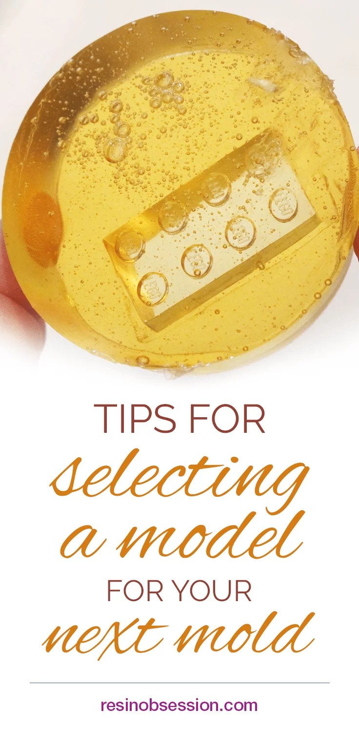 how to make resin molds for models