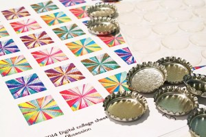bottle cap magnet supplies