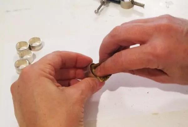 Sanding metal tube