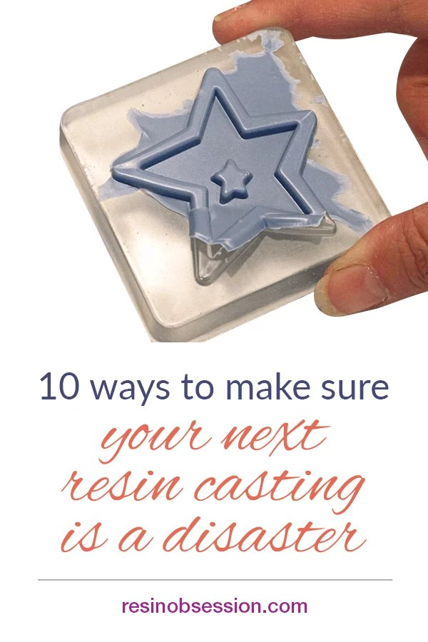 resin casting disasters