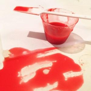 resin spill