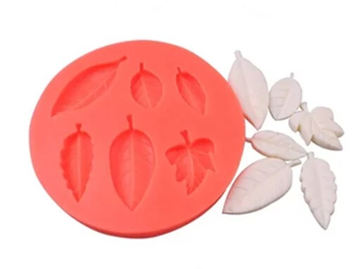 silicone leaves mold