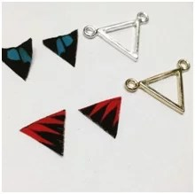 butterfly wing triangles