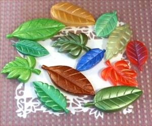 resin leaves