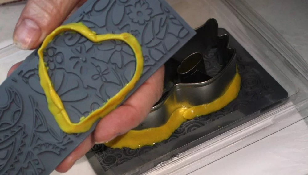 cookie cutter removed from mold
