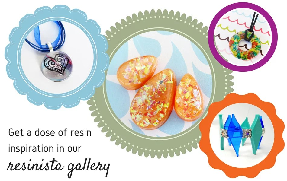 Resin Jewelry Making Art Supplies