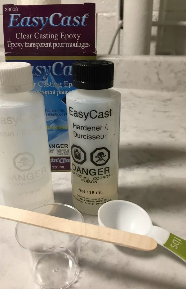 Easycast resin