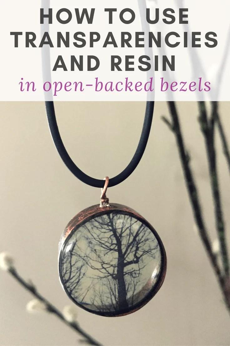 transparencies in resin