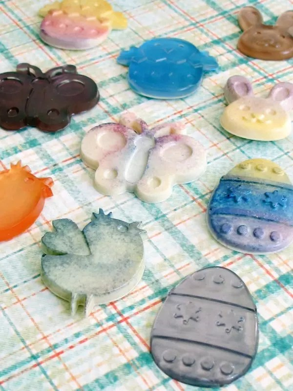 Easter resin charms