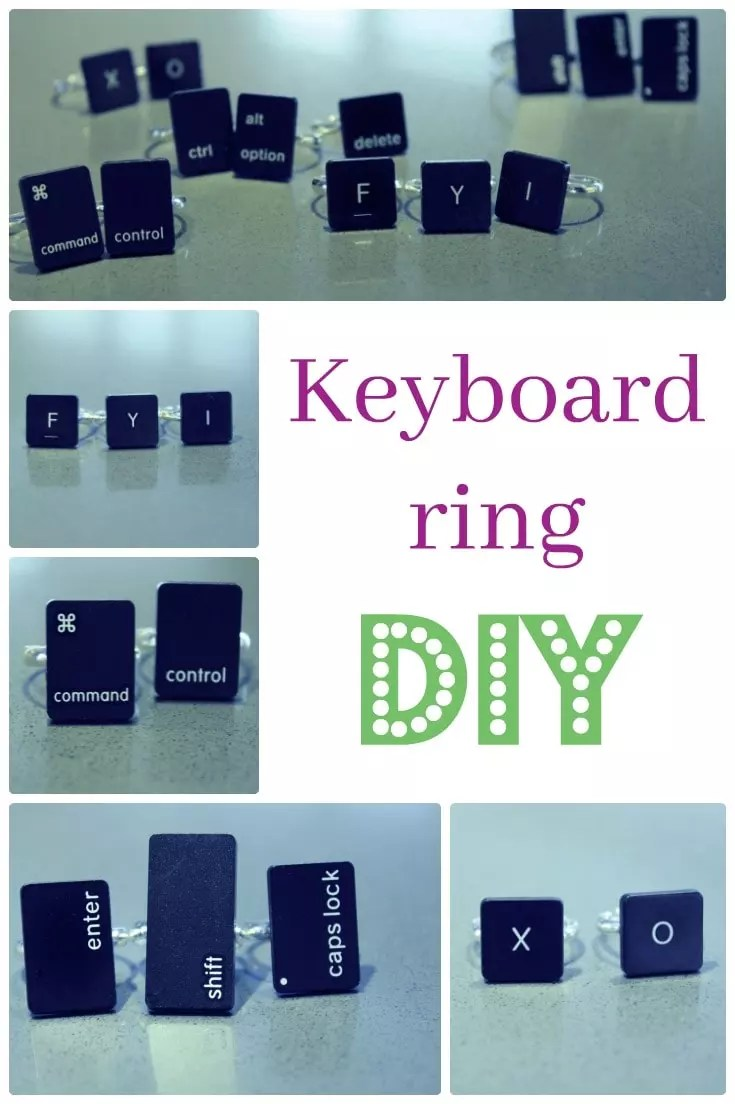 How to make your own keyboard rings