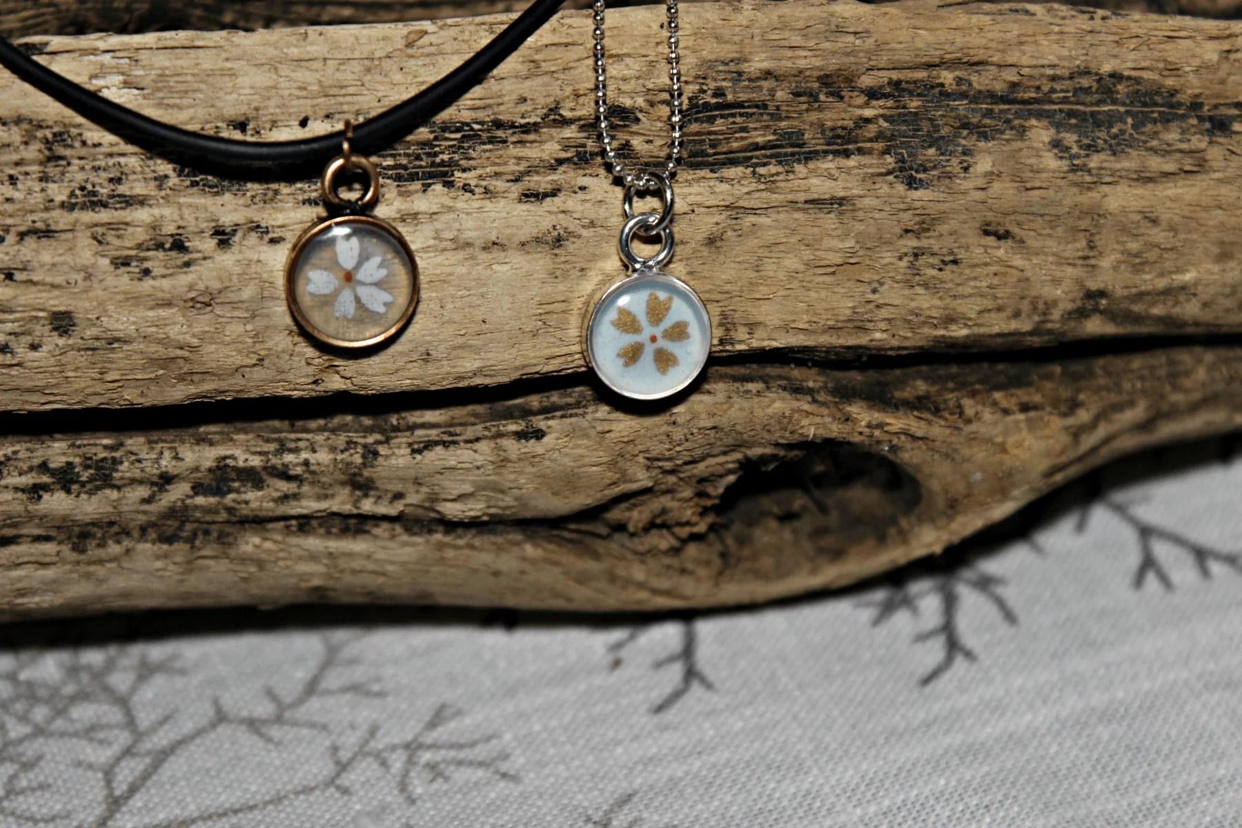 DIY open backed bezel pendants with resin