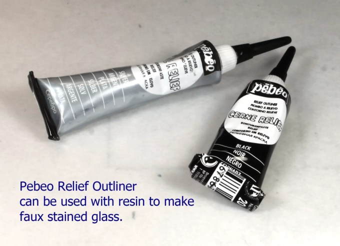 Pebeo paint relief outliner