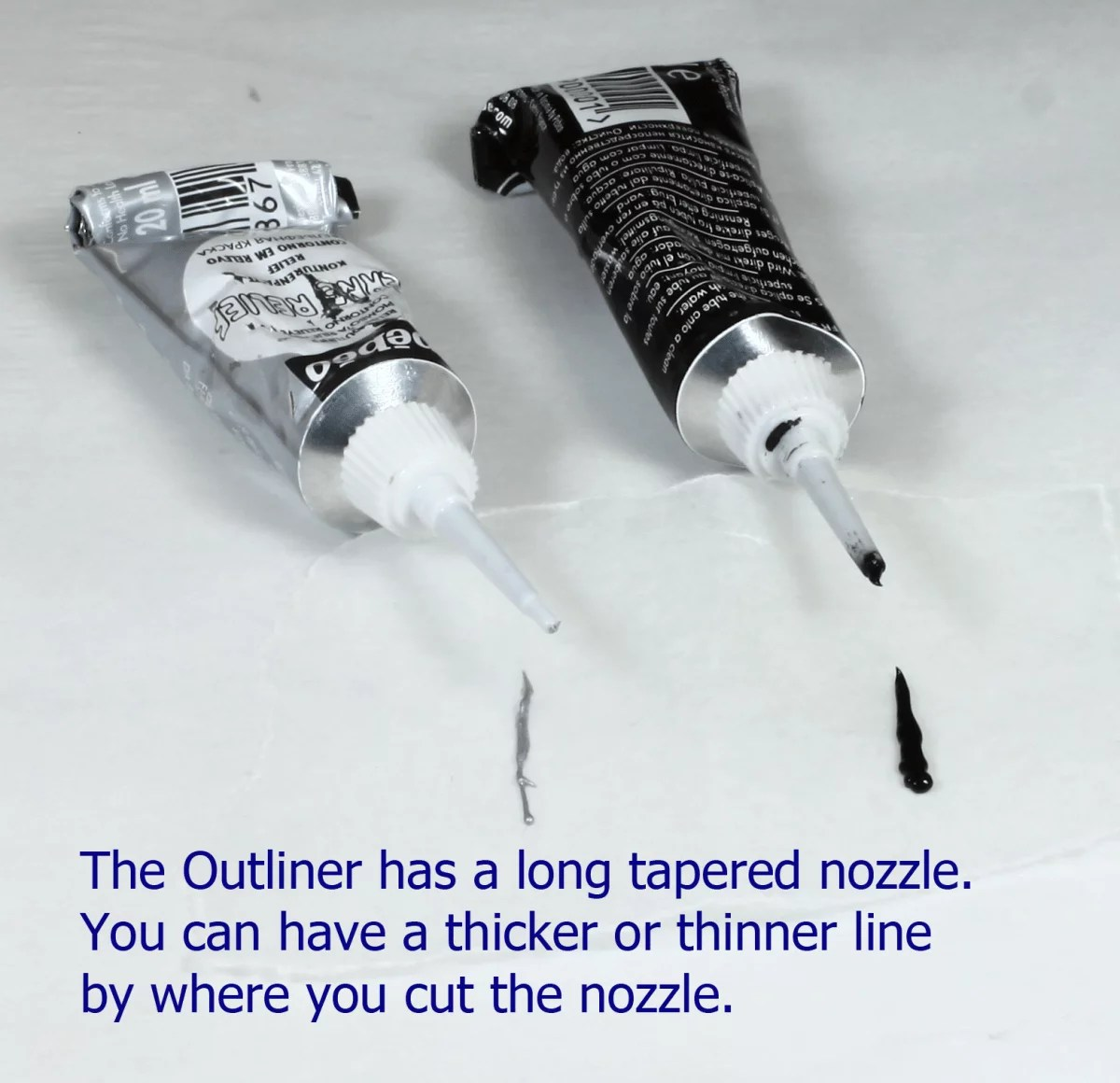 outliner paint tips