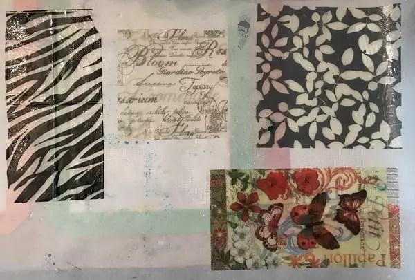 resin paper samples