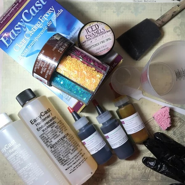 resin supplies