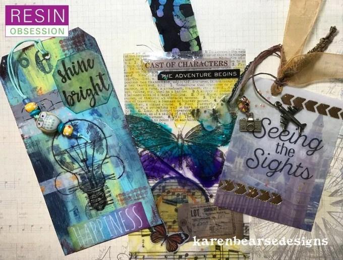 resin bookmarks DIY