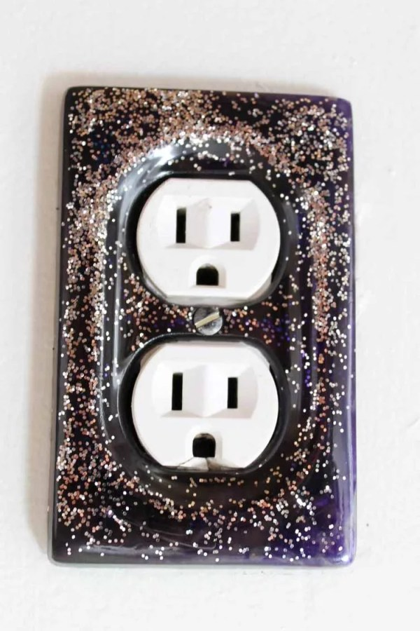 outlet plate cover DIY project
