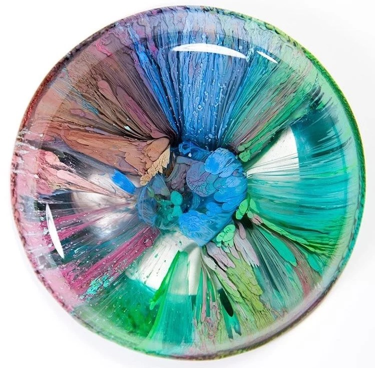 Petri Dish And Resin Resin Obsession - Coloring resin with alcohol ink