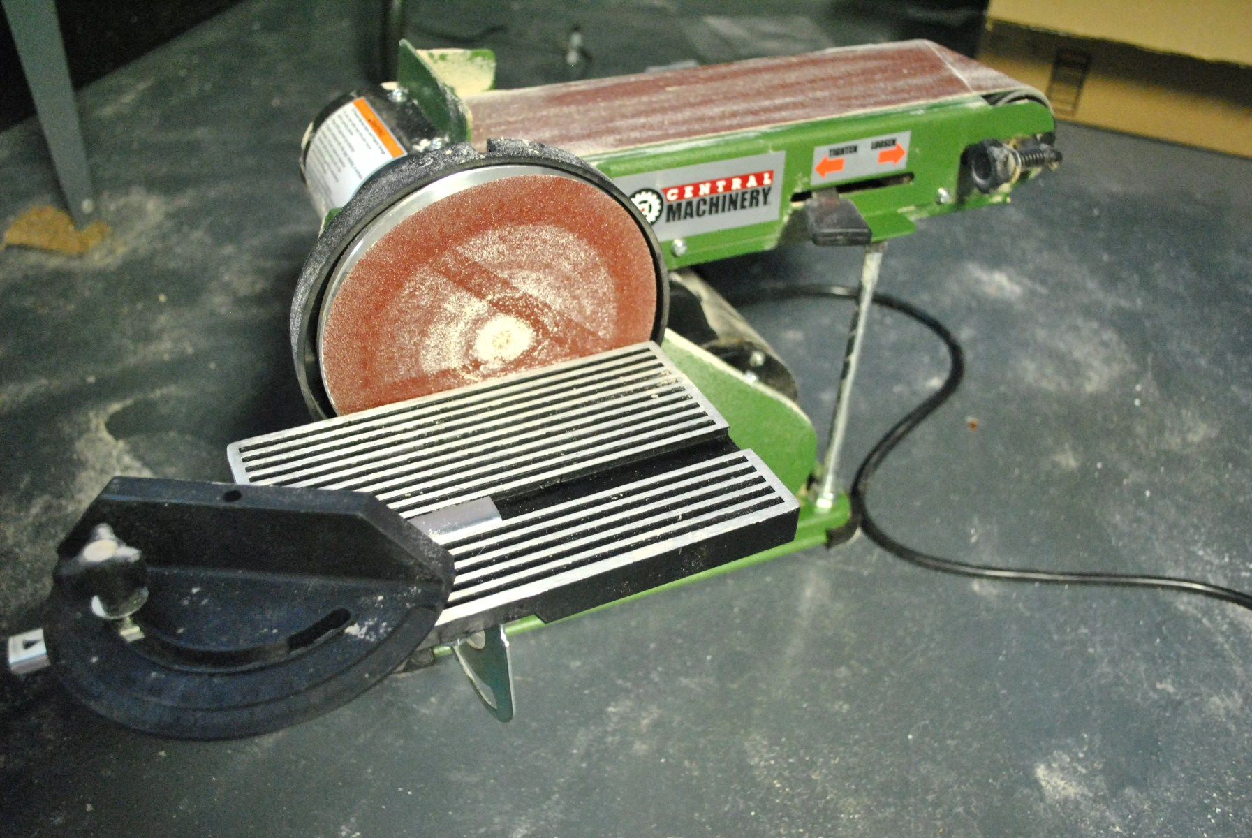 central machinery belt sander