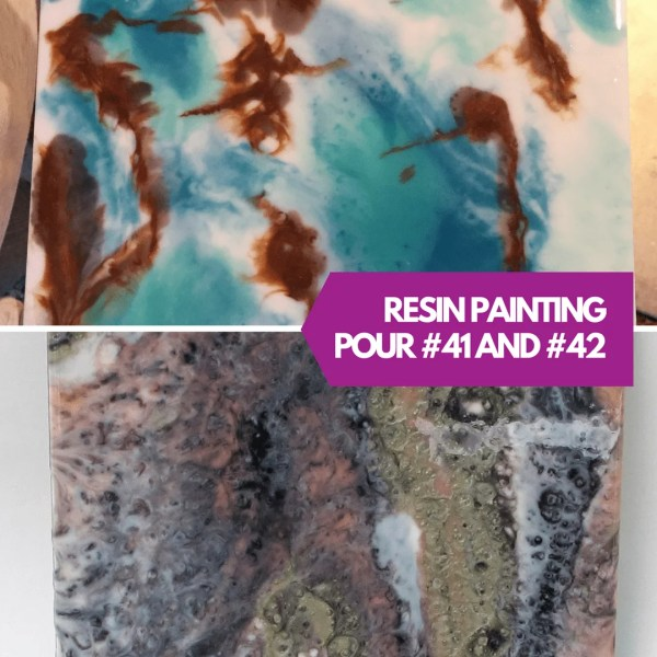 Resin Painting Techniques #41 And #42 - Obsession