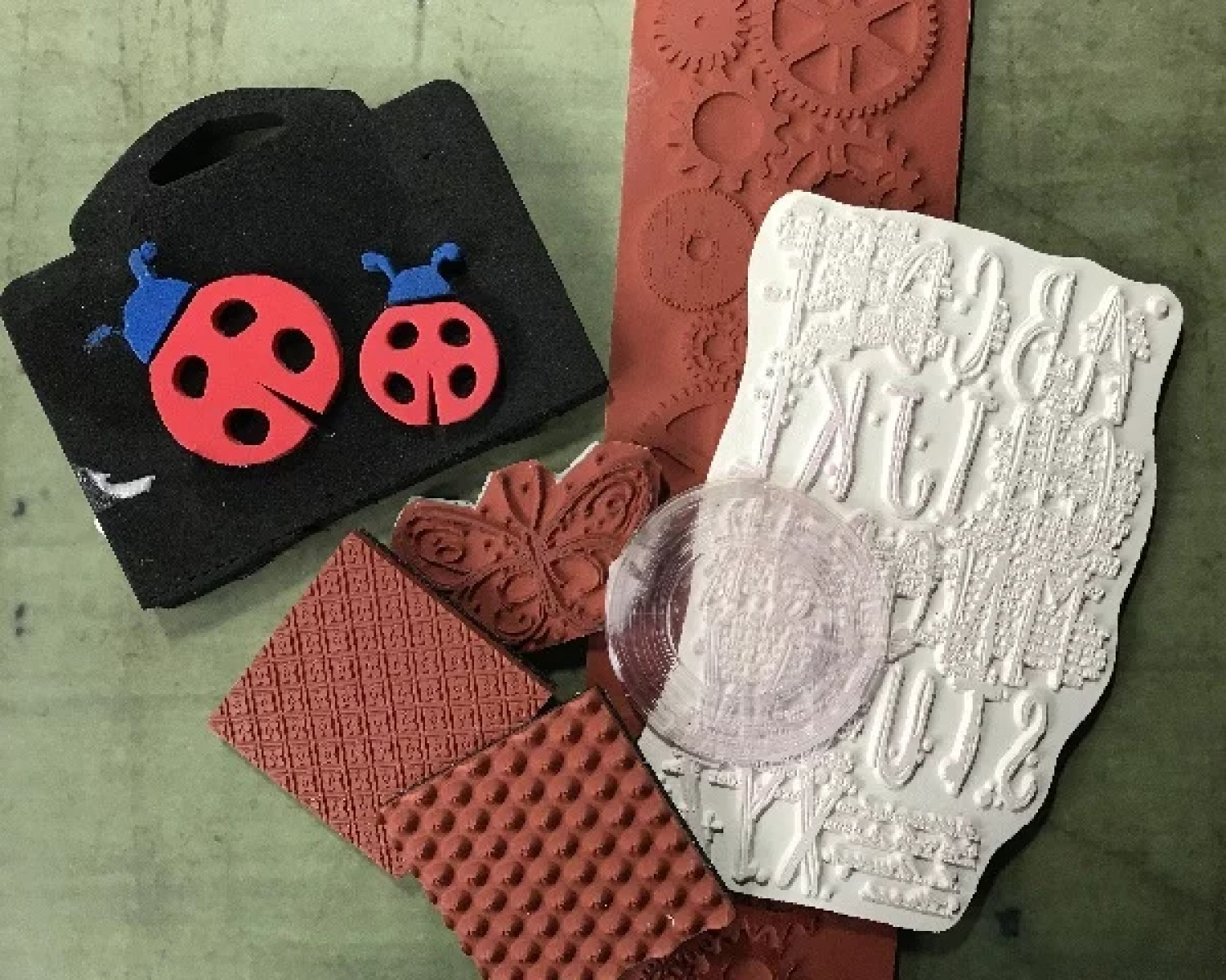 resin stamps
