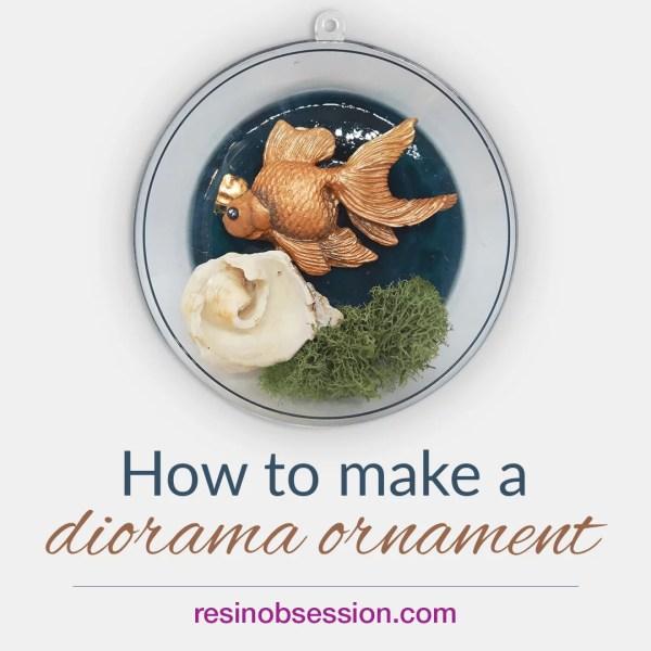 diorama ornaments DIY