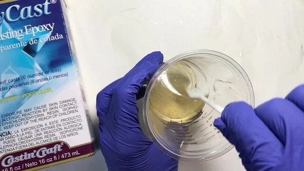 mixing resin