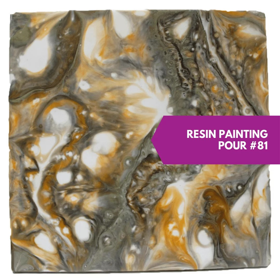 resin painting study
