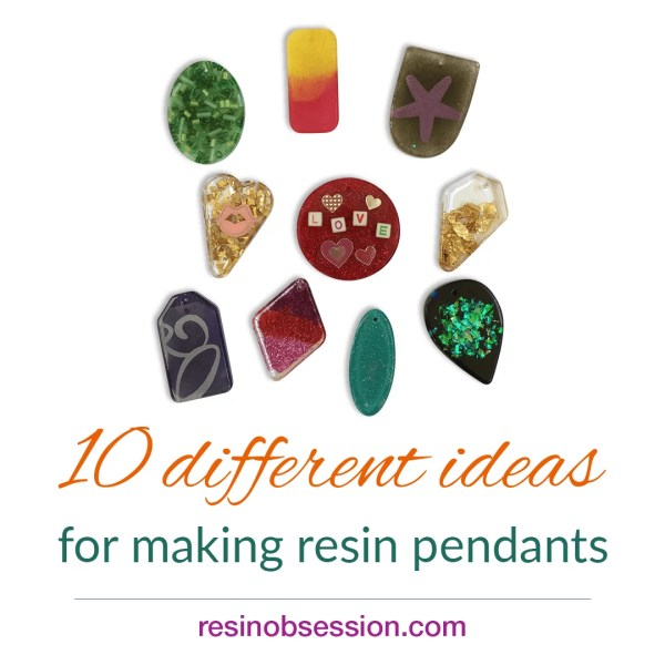 creative resin pendant ideas