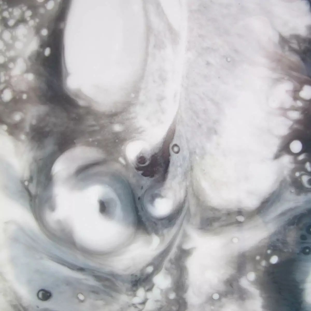 resin painting countertop detail