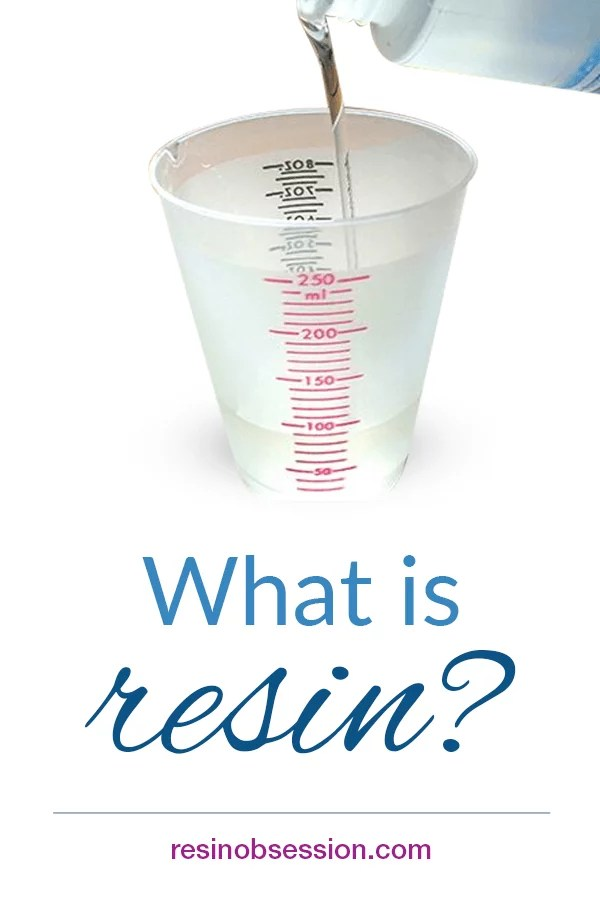 What is resin - history of resin