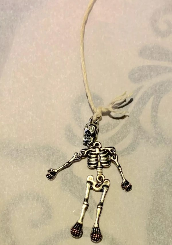 skeleton charm