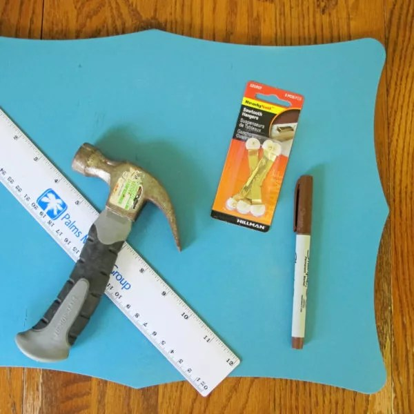supplies for photo collage board