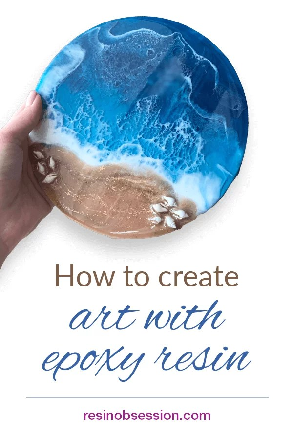 how to create resin art projects