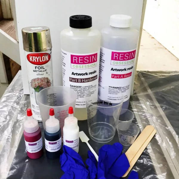 supplies for epoxy art