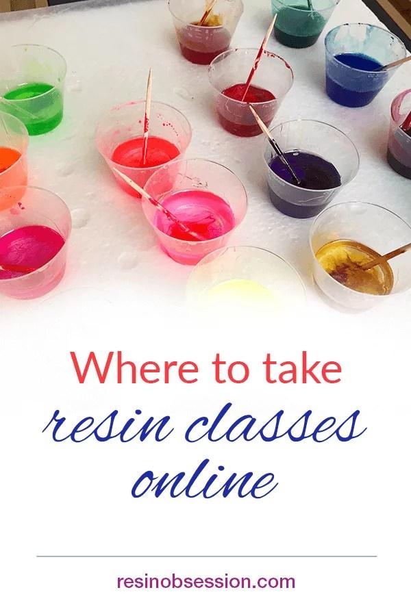 where to take resin classes