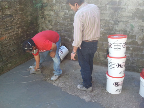 PROSTUK Fine malta in resine e inerti per pavimenti