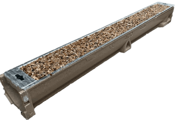Recess Aco Channel Tray With Keyhole Resin Warehouse