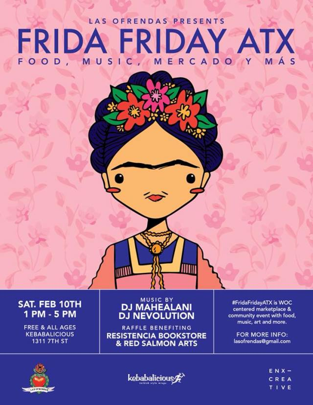 frida friday atx feb 2018