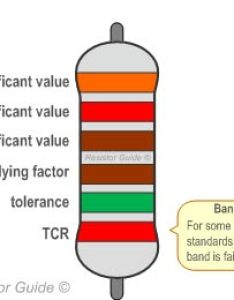 Six band resistor color code also guide rh resistorguide