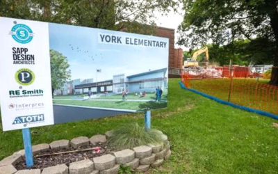 Demolition Starts At Springfield's York Elementary, Which Opened In 1911 | Springfield News-Leader