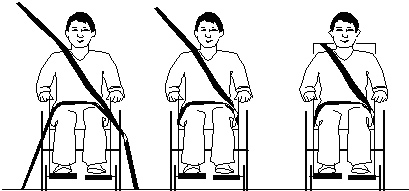 Safety Belt Usability and Reach Capability of Wheelchair Users