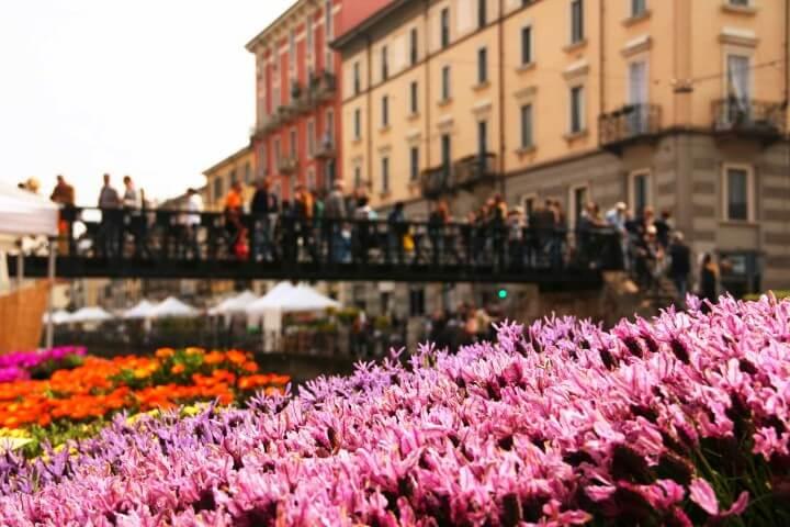 Fiori e sapori sul Naviglio Grande a Milano, vi aspettiamo il 2 aprile